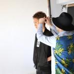RUDO MOOKメンズヘアカタログ撮影