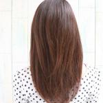 大人の色気 艶々ストレートヘア